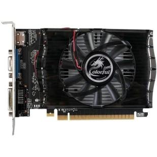 Placa video COLORFUL 2048 MB; GDDR3; 128 bit; PCI-E 16x; NVIDIA GeForce GT 730; VGA; DVI; HDMI