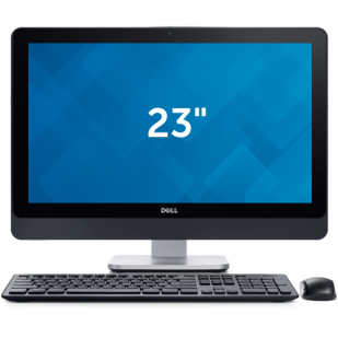 "Aio DELL, OPTIPLEX 9020 AIO,  Intel Core i7-4770S, 3.10 GHz, HDD: 500 GB, RAM: 8 GB, unitate optica: DVD RW, video: Intel HD Graphics 4600, 23"" LCD (FHD), 1920 x 1080"