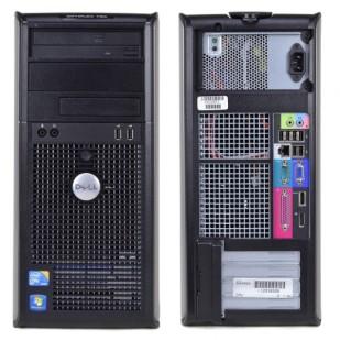 Dell, OPTIPLEX 780, Intel Core 2 Quad Q9650, 3.00 GHz, video: Intel GMA 4500; TOWER