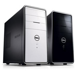Desktop Dell Inspiron 620, Intel Core i3-2120 3,3 GHz, 6GB DDR3, 1TB, Intel HD Graphics, DVDRW, 802.11b/g/n