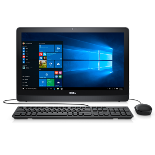 Aio DELL, INSPIRON 3264 AIO,  Intel Core i5-7200U, 2.50 GHz, HDD: 1 TB, RAM: 8 GB, unitate optica: DVD RW, video: Intel HD Graphics 620, webcam