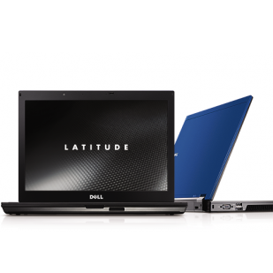 Laptop Dell Latitude E6410; Intel Core i3-370M 2400 Mhz; 4 GB DDR3; 500 GB SATA; Intel HD Graphics Shared; DVDRW; SH