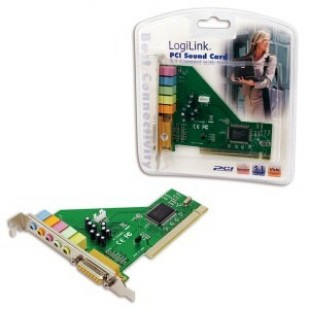 Placa de sunet LOGILINK (5.1); PCI; PC0027B""""