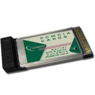 EU.MARK Adapter: PCMCIA to 2 x SATA