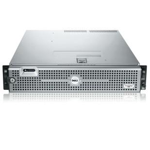 "DELL PowerEdge R805; 2x QuadCore Intel Xeon X5355, 2.6 GHz; 4 GB RAM; DVD; RAID Controller; PERC 5/I; 6x 3,5"" HDD bay; size: 2U"