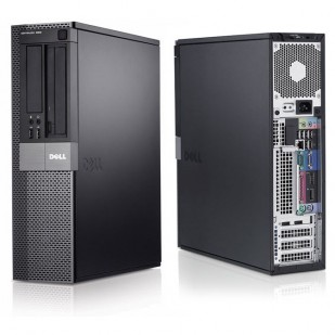 Dell, OPTIPLEX 960, Intel Core 2 Duo E8400, 3.00 GHz, video: Intel GMA 4500; SFF