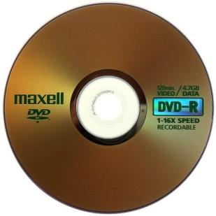 Blank DVD-R MAXWELL; 4.7GB; 16X; bulk