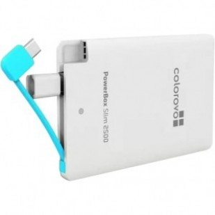 POWER BANK POWERBOX 2500MAH COLOROVO