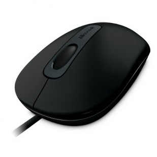 Mouse MICROSOFT; model: 100; NEGRU; USB