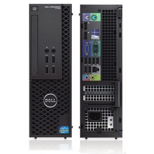 Sff DELL, PRECISION T1700,  Intel Xeon E3-1220 v3, 3.10 GHz, HDD: 500 GB, RAM: 16 GB, unitate optica: DVD RW, video: nVIDIA Quadro K620