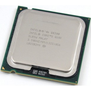 PROCESOR: INTEL; CORE 2 DUO; Q8300; 2.5 GHz; socket: LGA775; REF