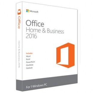 Licenta retail Microsoft Office 2016 Home and Business 32-bit/x64