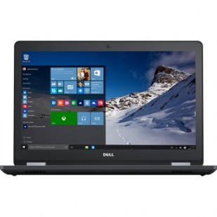 Laptop DELL, LATITUDE E5570,  Intel Core i5-6300U, 2.40 GHz, HDD: 500 GB, RAM: 4 GB, video: Intel HD Graphics 520, webcam