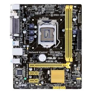 Placa de baza ASUS; model: H81M-D; socket: 1150; DD-RAM3; PCI-E x16; 2xPCI-E x1; format: ATX