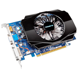 Placa video GIGABYTE 2048 MB; GDDR3; 128 bit; PCI-E 16x; NVIDIA GeForce GT 730; VGA; DVI; HDMI