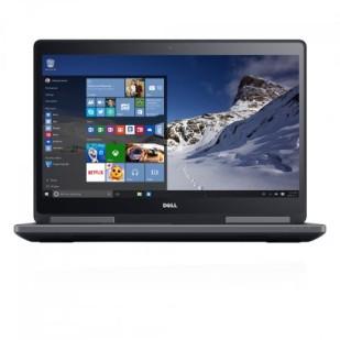 "Laptop DELL, PRECISION M7510, Intel Core i7-6820HQ, 2.70 GHz, HDD: 128 GB SSD, 1 TB, RAM: 32 GB, video: Intel HD Graphics 530, nVIDIA Quadro M2000M, 15.6"" LCD FHD TOUCH"
