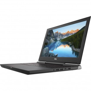 Laptop DELL, INSPIRON 7577, Intel Core i7-7700HQ , 2.80 GHz, HDD: 256 GB, RAM: 16 GB, video: Intel HD Graphics 630, nVIDIA GeForce GTX 1050 Ti, webcam