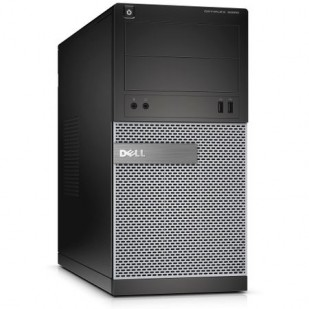 Dell, OPTIPLEX 3020,  Intel Core i3-4130, 3.40 GHz, HDD: 250 GB, RAM: 4 GB, unitate optica: DVD RW, video: Intel HD Graphics 4400; TOWER