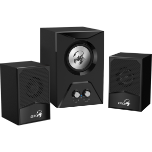"""BOXE 2.1 GENIUS """"SW-G2.1 500"""", RMS: 3.5Wx2 + 8Wx1, black """"31730003401"""" (include timbru verde 1 lei)"""