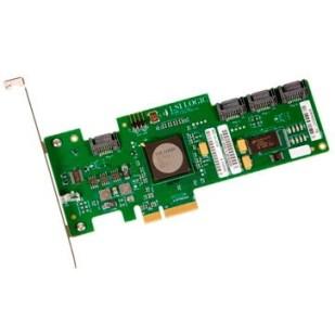"LSI LOGIC Adapter: PCI-E 4X to 4 x eSATA; ""PC236A0GKVA2CI, L3-00119-05D, 000009E788""; SH"