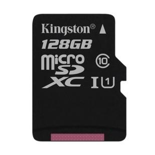MICROSD KINGSTON; 128GB; CLASS 10 ; SDCS/128GBSP