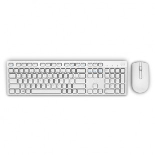 "Kit Tastatura + Mouse DELL; model: KM636; layout: UK; ALB; USB; WIRELESS; MULTIMEDIA; ""9CT30"""