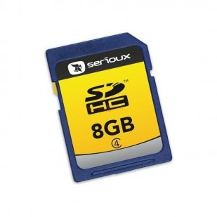 SD-HC CARD SERIOUX 8 GB