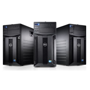 "DELL PowerEdge T310; Intel Core i3-550 3.2 GHz; 8 GB RAM; 2X 250 GB HDD; RAID Controller; S100; HDD TYPE: SATA; DVD; 4x 3,5"" HDD bay; size: TOWER"