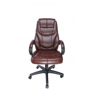 Scaun office Spacer imitatie piele, SP-OC-BR168