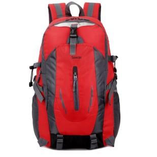 Ruscac pentru laptop 15.6″ Spacer, model SPB-RIO-RED, Rosu