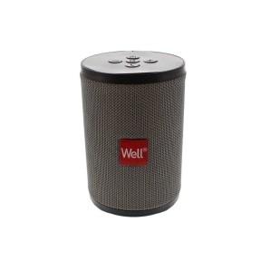 Boxa portabila Well Peal, Bluetooth, 5W, gri