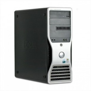 Dell, PRECISION WORKSTATION T5500, 2 x Intel Xeon E5603, 1.60 GHz, video: ATI Radeon HD 3450 (RV620); TOWER