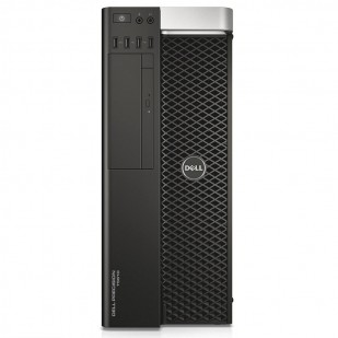 Dell, PRECISION T5610, Intel Xeon E5-2620 v2, 2.10 GHz, HDD: 500 GB, RAM: 16 GB, video: nVIDIA Quadro K600