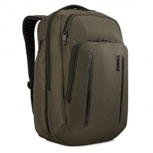 Rucsac urban cu compartiment laptop Thule Crossover 2 Backpack 30L, Night Forest