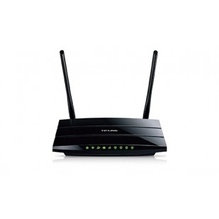 ROUTER TP-LINK; model: TD-W8970; MANAGEMENT; WIRELESS; PORTURI:  x GBIC 10/100/1000