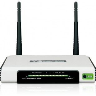 ROUTER TP-LINK; model: TL-MR3420