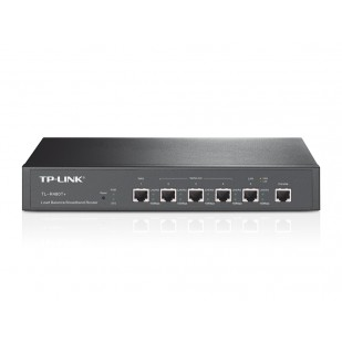 ROUTER TP-LINK; model: TL-R480T+; MANAGEMENT; PORTURI:  4x 10/100