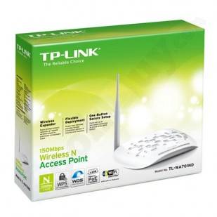 ACCESS POINT cu management, TP-LINK model: 150 Mbps Wireless; WIRELESS; PORTURI: 1 x RJ-45 ; TL-WA701ND""""