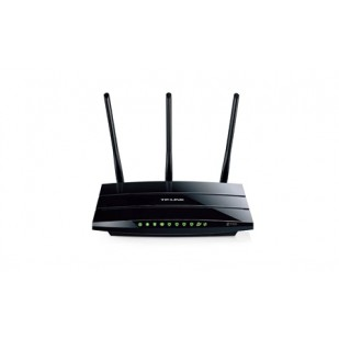 ROUTER TP-LINK; model: TL-WDR4300; MANAGEMENT; WIRELESS; PORTURI:  4x GBIC 10/100/1000
