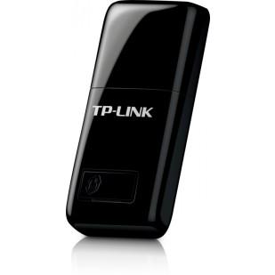 PLACA DE RETEA: TP-LINK TL-WN823N; WIRELESS 300 Mbps; USB