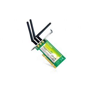 "Placa retea: TP-LINK 300 Mbps Wireless; PCI; ""TL-WN951N""`"