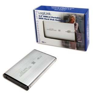 LOGILINK HDD ENCLOSER; USB 2.0 M la SATA M; UA0041A