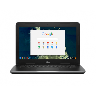 "Laptop DELL,  Chromebook 11 3180, Intel Celeron N3060, 1.6 GHz, HDD: 32 GB, RAM: 4 GB, video: Intel HD Graphics, 11.6"" HD"