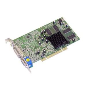 Placa video: ATI RADEON 7000; 64 MB; 64 bit; AGP; DVI; VGA