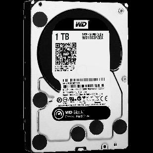 HDD 1000 GB; 7200 RPM; 64 MB BUFFER; WD