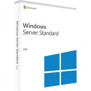 Windows Server Standard 2019 64bit Engleza, DVD, 16 Core