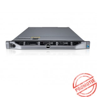 "DELL PowerEdge R610; 2x SixCore Intel Xeon X5650, 2.6 GHz; 16 GB RAM; HDD TYPE: SAS; DVD; 6x 2,5"" HDD bay; size: 1U"