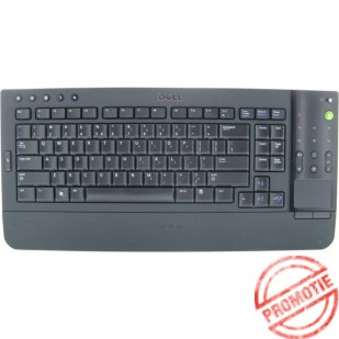 Tastatura DELL model KR669 layout UK NEGRU  WIRELESS MULTIMEDIA