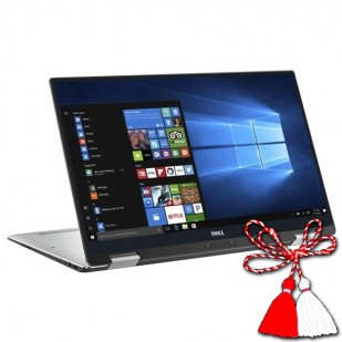 Laptop DELL, XPS 13 9365,  Intel Core i7-7y75, 1.30 GHz, HDD: 240 GB, RAM: 16 GB, video: Intel HD Graphics 615, webcam, BT