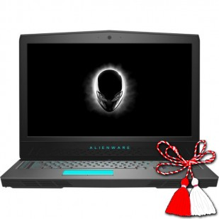 Laptop ALIENWARE, 17 R5, Intel Core i7-8750HQ, 2.20 GHz, HDD: 1000 GB, RAM: 16 GB, video: Intel HD Graphics 530, nVIDIA GeForce GTX 1060, webcam